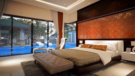 Дом 2 спальни, бассейн